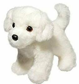 10 Inch Bailey Bichon Frise Dog Plush Stuffed Animal by Doug