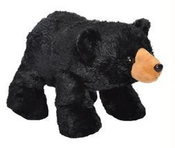 10 Inch Hug Ems Black Bear Plush Stuffed Animal by Wild Repu