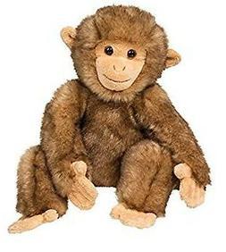 10 Inch Morocco Sitting Macaque Monkey Plush Stuffed Animal