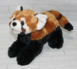 10 Inch Playful Red Panda Plush Stuffed Animal by Wild Repbl