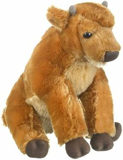 10 Inch Wild & Wonderful Baby Bison Plush Stuffed Animal by