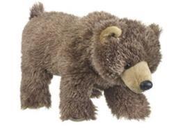 10 Inch Wild & Wonderful Baby Grizzly Bear Stuffed Animal by