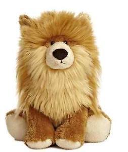 10 Inch Wuff & Friends Pip Pomeranian Dog Plush Stuffed Anim