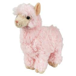 "10"" Heirloom Pink Alpaca Plush Stuffed Toys Animals Kids Gif"