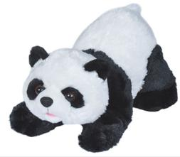 10 Inch Playful Panda Bear Plush Stuffed Animal by Wild Repu