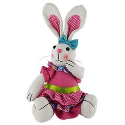 WEWILL 10-Inch Plush Bunny Rabbit Adorable Bunny Stuffed Ani