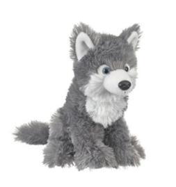10 Inch Wild & Wonderful Wolf Pup Plush Stuffed Animal by Wi