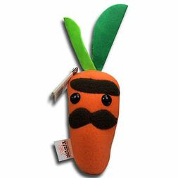"10"" Moustache Carrot Flaky Friends Stuffed Animals Soft Plus"