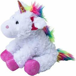 "The Petting Zoo - 10"" Rainbow Unicorn - Stuffed Animal Toy -"