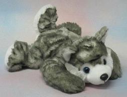 "Wishpets 11"" Husky Plush Toy Stuffed Animal"