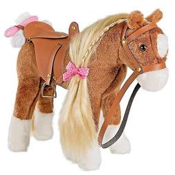 11 inches Stuffed Animal Horse Girls Plush Toy Pretend Play