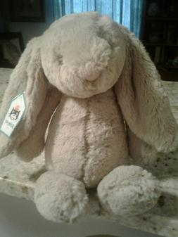 "JELLYCAT 12"" BASHFUL BUNNY BRAND NEW WTAGS. AND 18"" JELLY CA"