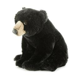 "Aurora 12"" Blackstone Black Bear Flopsie Plush Stuffed Anima"