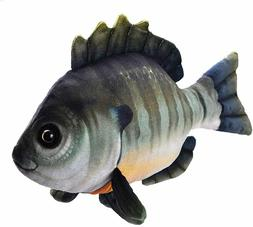 "Wild Republic 12"" Bluegill Fish Plush Stuffed Animal Toy Liv"
