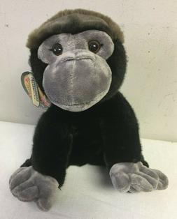 "12"" Gorilla Plush Stuffed Floppy Animal Kingdom Butter Soft"
