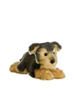 12 Inch Flopsie Yorky Dog Plush Stuffed Animal by Aurora A5