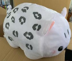 AMUSE 12 inches long snow leopard cat plush Toreba Japan