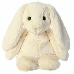 "Aurora 12"" Paddle Bunny Cream Stuffed Animal"