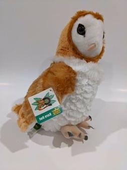 "12"" Plush Barn Owl by Wild Republic - Brand New - SUPER CUDD"