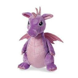 """12"""" Purple Dragon - Larkspur Stuffed Animal Fun Toy Play Plu"""