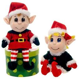 12 Santa's Secret Elf Boy and Girl Set by Fiesta