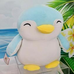 12 squishy blue penguin plush super soft