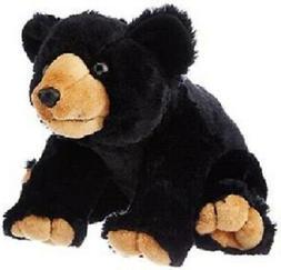 "Wild Republic 12"" Stuffed BLACK BEAR Animal, Plush, Brand Ne"