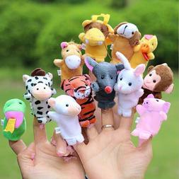 12Pcs /10 PCS Baby Toys Family Finger <font><b>Puppets</b></