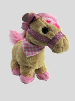 """13"""" Animated Plush Horse/Pony_Stuffed Animal_Soft Toy_Intera"""