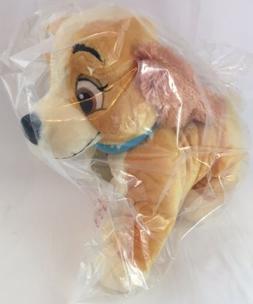 "DISNEY STORE 13"" Plush LADY And The Tramp Dog Soft Large Stu"