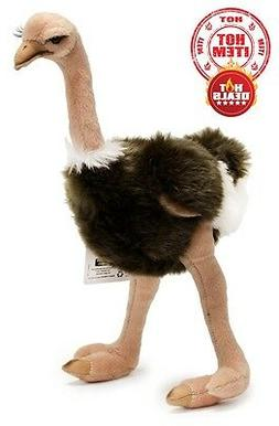 "14"" Baby Ostrich Plush Soft Toy Cuddly Teddy Adorable Cute D"