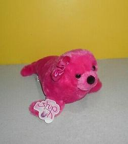 "14"" Long Aurora Stuffed Animals Girlz World Nation Deep Pink"