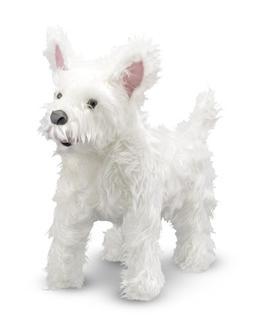 "Melissa & Doug 14872 ""west Highland Terrier Westie"" Plush To"