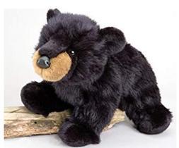 15 Inch Boulder Black Bear Plush Stuffed Animal by Douglas