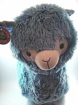 "15"" blue DOLLY LLAMA large plush stuffed animal Brand New!!"