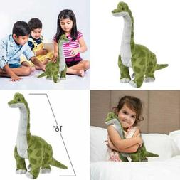 "16"" Cozy Plush Brachiosaurus Dinosaur Soft & Cuddly Stuffe"