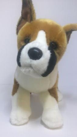 16 Inch Bruschi Boxer Dog Plush Stuffed Animal by Douglas