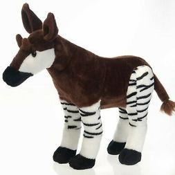 16 okapi plush stuffed animal toy