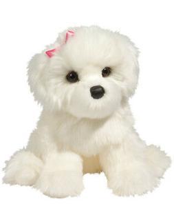 Douglas Cuddle Toys 16 Plush COCONUT the BICHON FRISE DOG