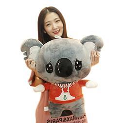 WuKong 17.6'' Plush Animal Toys Stuffed Koala Bear Pillow To