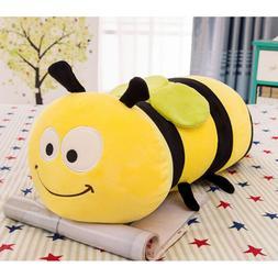 "Dongcrystal 17.7"" Fuzzy Bumblebee,Soft Plush Bee Toy - Stuff"