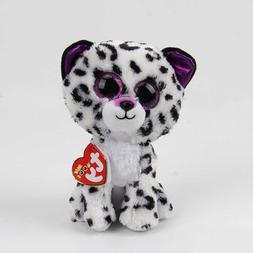 17CM <font><b>Dog</b></font> cat violet leopard beastie Plus