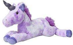 "The Petting Zoo - 18"" Posh Unicorn Purple - Stuffed Animal T"