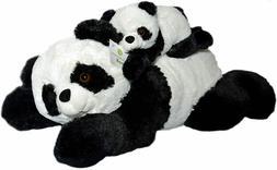 "18"" Soft Panda Bears Stuffed Animals Toy Teddy Bear Kids Fun"