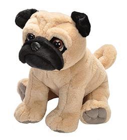 Wild Republic Pug Plush, Stuffed Animal, Plush Toy, Gifts Ki