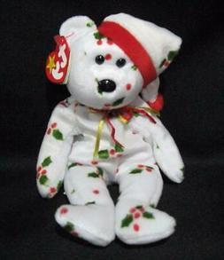 1998 holiday teddy beanie