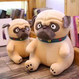 1PC 25-50CM Sand Dogs Doll <font><b>Stuffed</b></font> Simul