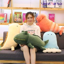 1pc 40/50cm Cartoon Aquatic Creatures Plush Toy Baby Lovely