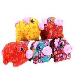 1Pc Cute 10cm mini cloth pig plush toy stuffed animals toys