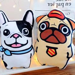 1pcs <font><b>Large</b></font> Cartoon Bulldog Belldog Plush